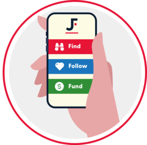 find follow fund@2x